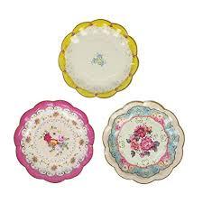 flower paper plates flower paper plates amazon com