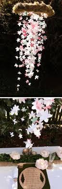 paper flower wedding chandelier via artzycreations paper flower wedding chandelier pic for 24 diy spring wedding ideas on a budget