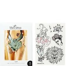 переводные тату Miami Tattoos купить цена фото видео доставка переводные тату