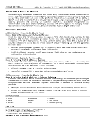 Market Research Resume Examples Resume Peppapp