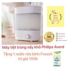 Máy tiệt trùng sấy khô bình sữa 3 in 1 Philips Avent Phiên bản 2.0 - Máy  tiệt trùng, hâm sữa