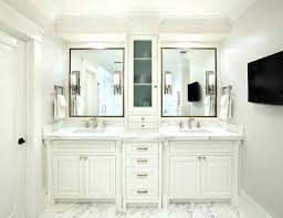 master bathroom with 2 sinks 2 sink vanity modern double bathroom clear top in espresso picture