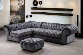 ... Design Many Comely Picture Of Decoration Using L Shape Tufted Dark Grey  Living Room Elegant Sectional Sofas Including