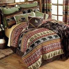 rustic bedding cabin quilt sets twin quilts log with comforter king remodel 17