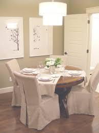 slipcovered dining chairs. Slipcovered Dining Chairs White Room Lee For