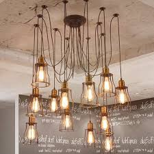 industrial lighting ideas. 47 Examples Gracious Beautiful Diy Industrial Chandelier Home Decor Ideas Aisini Edison Multiple Ceiling Spider Lamp Light Pendant Lighting Shade Wood L