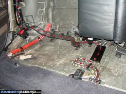 rear compartment blower option sa aka fgb part all 3 ground wires control panel blower motor relay were grounded behind the right brake light cluster the wiring diagram tells you to use the ground