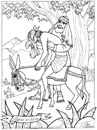 Coloring Pages Of The Good Samaritan Coloring Home