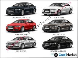 A6 Colours Audi Colour Options Audi Audi A6 Cars