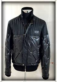 cesare paciotti er jacket with genuine eiderdown made in italy