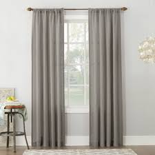 Gray and beige curtains Wall Quickview Wayfair Gray Textured Curtains Wayfair