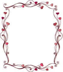 frame. Set Of Heart Frame Vector L