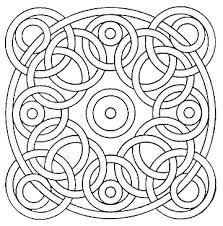 Simple Mosaic Coloring Pages At Getdrawingscom Free For Personal