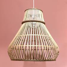 Modern Bamboo Pendant Light Simba Large Store Without A Home