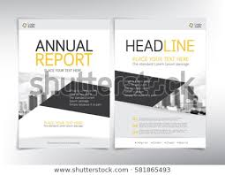 Brochure Cover Pages Modern Business Cover Pages Vector Template Stock Vector Royalty