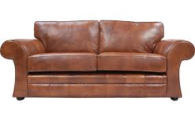 leather sofa bed. Cavan Real Leather Sofa Bed L
