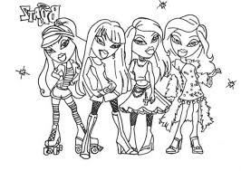 Small Picture Bratz Color Pages Miakenasnet