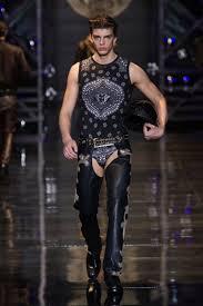 versace belt outfit. versace men\u0027s wear autumn winter 14/15 fashion show - #versacelive #versacemenswear # belt outfit