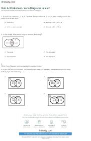 How To Solve Venn Diagram Word Problems Probability Venn Diagrams Math Quiz Worksheet Kindergarten