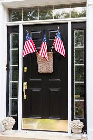 my 4th of july decorations in my own style