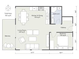 floor plan online. Contemporary Floor Online 2D Floor Plan Intended RoomSketcher