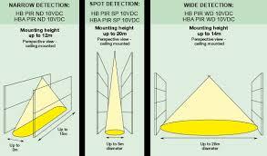 hb pir xx 10vdc hba pir xx 10vdc danlers lighting controls detection diagram