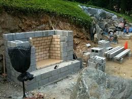 building outdoor fireplace outdoor fireplace outdoor fireplace backyard and yards building a concrete block outdoor fireplace