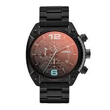 diesel mens overflow black iridescent dial bracelet watch h samuel diesel mens overflow black iridescent dial bracelet watch product number 1776967