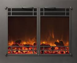 Amantii BI88DEEP Full Frame Electric FireplaceLarge Electric Fireplace Insert