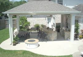 but the best way to deal with this issue is to build a roof or pergola over the outdoor kitchen countertops a pergola will likely provide enough shade to