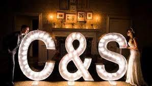 letter lighting. Hire For Your Wedding Event Letter Lighting
