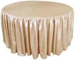 20 round table skirt designs