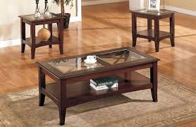 square end table with storage round glass coffee sets