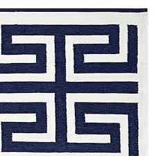 elegant greek key rug black and white greek key outdoor rug