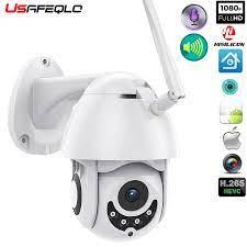 Camera Wifi Ngoài Trời PTZ Camera IP H.265X 1080 P Tốc Độ Dome Camera Quan Sát  Camera An Ninh IP WIFI Bên Ngoài 2MP IR nhà Surveilance|Camera giám sát