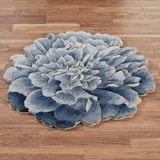 geena blue flower shaped round wool rugs fairy bedroom fl 8x10 bedroom fl rug bedroom designs
