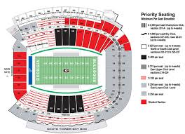 Uga Seating Chart Sanford Stadium University Of Georgia Sanford Stadium Pt 2 Athens