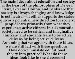 education for social change from theory to practice