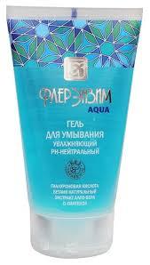 Флерэнзим <b>Aqua гель для</b> умывания <b>увлажняющий</b> — купить по ...