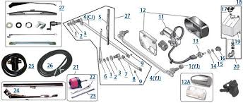 jeep cj wiper motor wiring diagram wiring schematics and diagrams wiper linkage 4 wheel drive