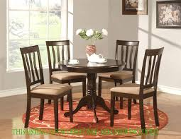 round table dinette kitchen table in cappuccino finish 36 36 inch round pedestal kitchen table