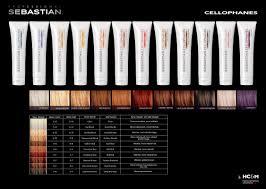 Hair Cellophane Color Charts Sebastian Professional Cellophanes Color Chart Cellophane