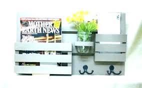 mail organizer wall wall mail holder wooden wall mail organizer chalkboard mail holder kitchen with shelf