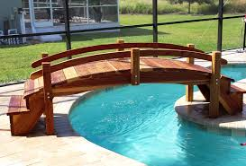 Small Picture Pool Bridges or Step Bridges