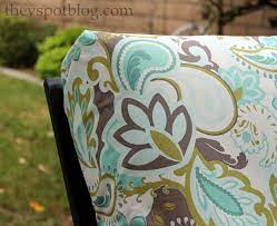 how to recover your outdoor cushions