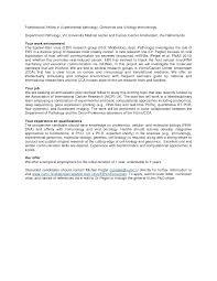 Molecular Biology Cover Letter Examples Granitestateartsmarket Com