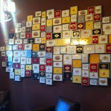 Ring holder storage idea 8. Cigar Boxes On Wall Cigar Box Crafts Cigar Box Art Cigar Box
