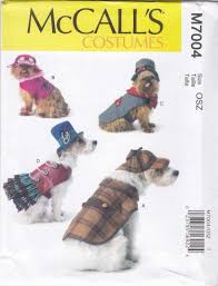 Dog Costume Patterns Beauteous McCall's Sewing Pattern 48 Crafts Dog Costumes Coat Hats Sherlock