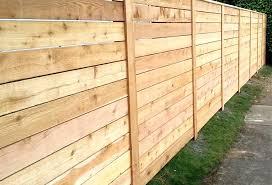 Wood Fence Horizontal Wood Fences Wood Fence Panels Price