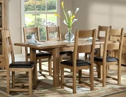 captivating oak dining sets for 6 solid table and chairs splendid room furniture set interior design